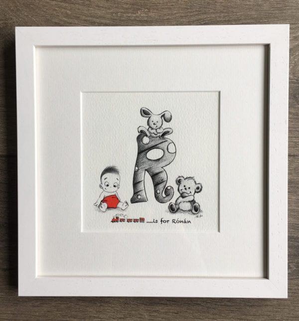 Baby Letter Print