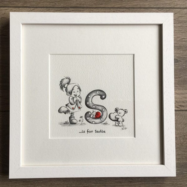 Baby Letter Print