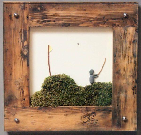 Golf Pebble Art