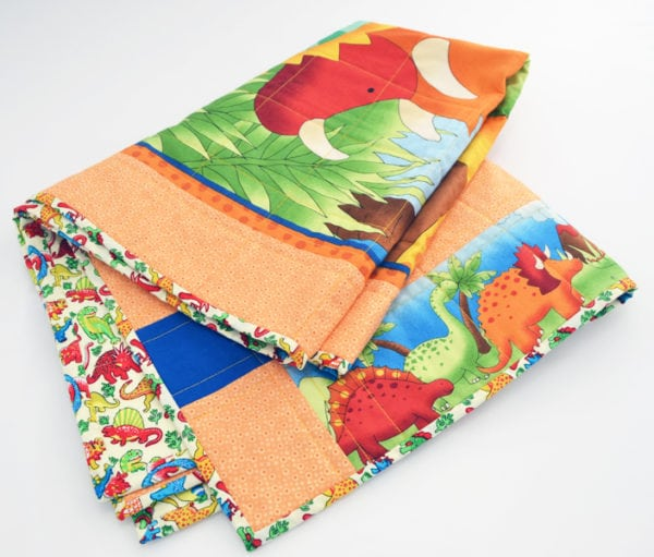 children's patchwork quilt