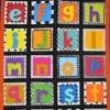 colourful patchwork quilt