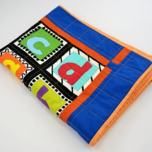 colourful patchwork quilt