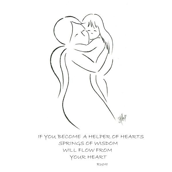 Helper of Hearts Mother's Day Print