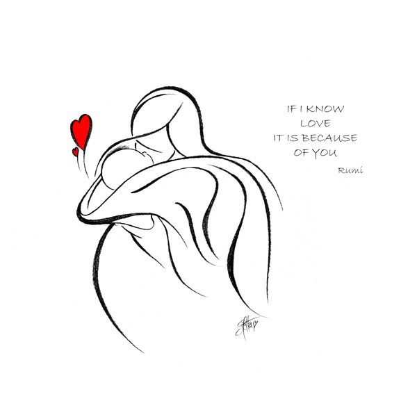 If I Know Love Mother's Day Print