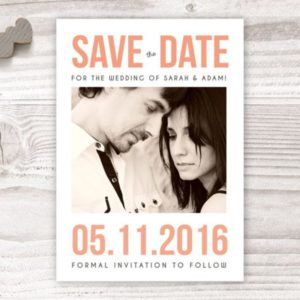 personalised save the date