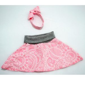 Skirt and Hairband Sets