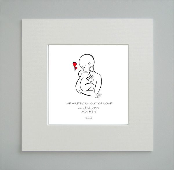 Born Out Of Love - Mother's Day Print