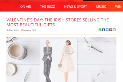 "FM 104 – ""…The Irish stores selling the most beautiful gifts"""
