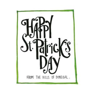 St.Patrick's Day Keepsake Cards