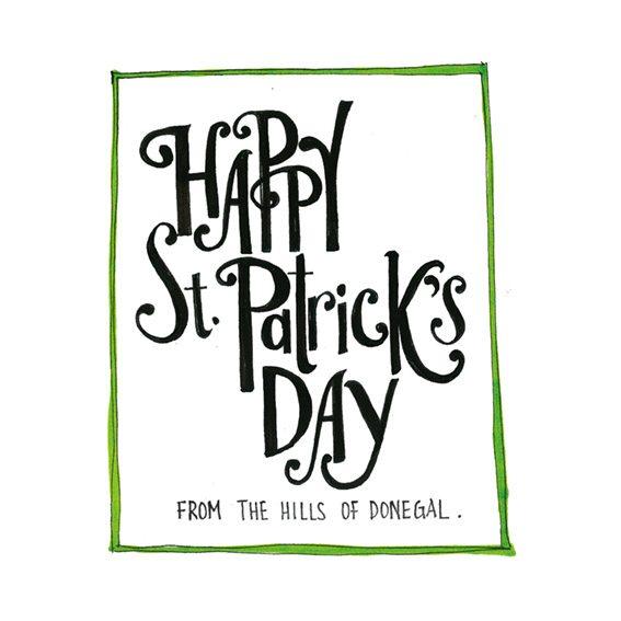 St.Patrick's Day Keepsake Cards
