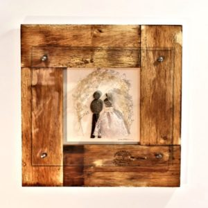 Wedding Arch Pebble Art