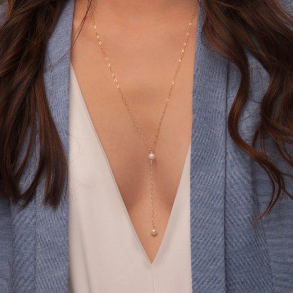 long wedding necklace