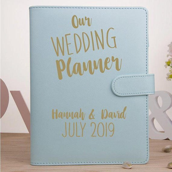Personalised Wedding Planner The Perfect Engagement Gift Idea Cuando
