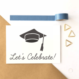 Let's Celebrate Graduation Card