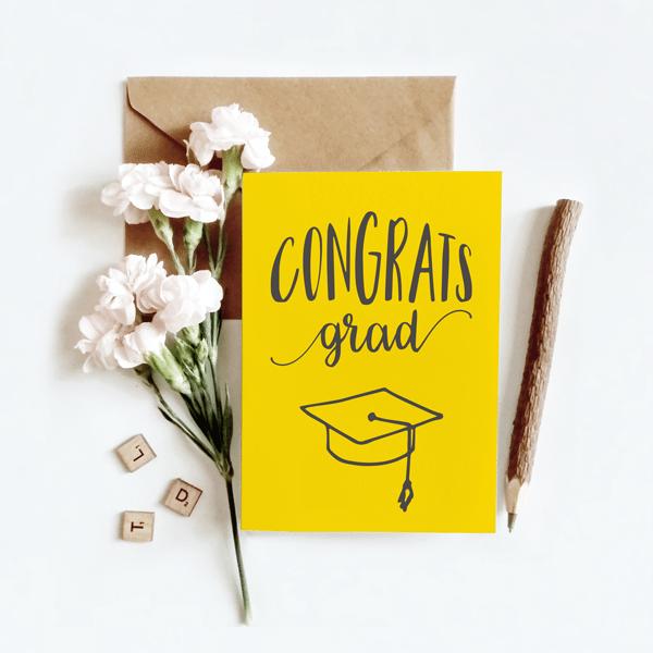Congratulations Graduation Card Designed Made In Ireland