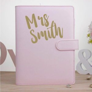 Personalised Teacher Planner