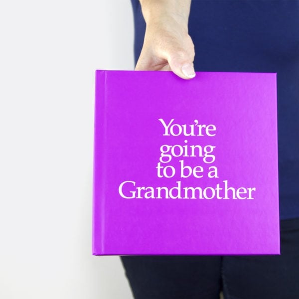 pregnancy announcement for grandmother