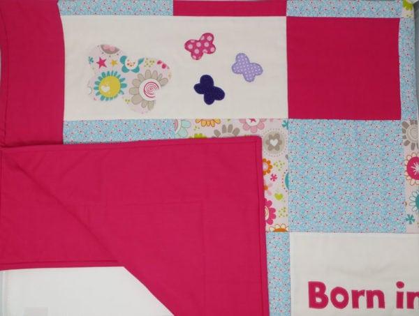 baby patchwork quilt