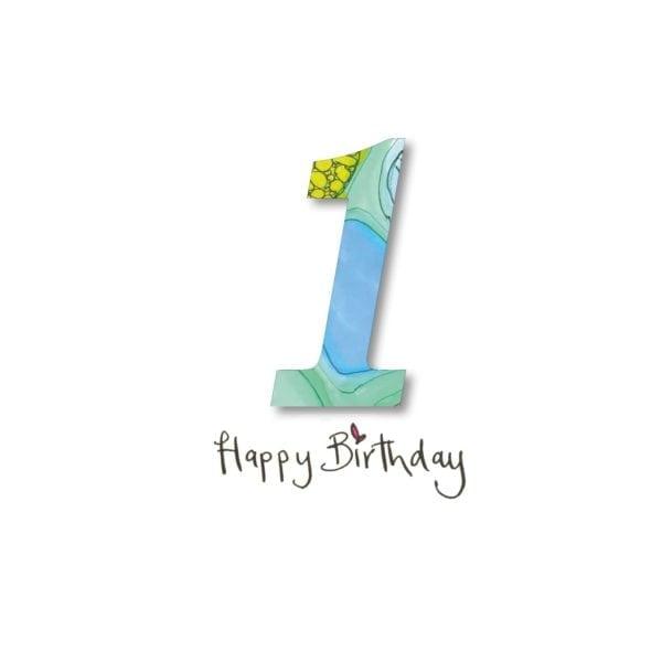 Personalised Birthday Girl Boy Keepsake Cards