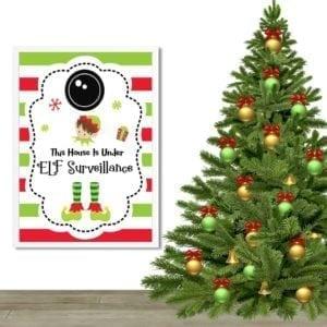 Elf Christmas Decor