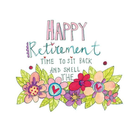 Happy retirement keepsake card personalised cards retirement gifts retirement card m4hsunfo