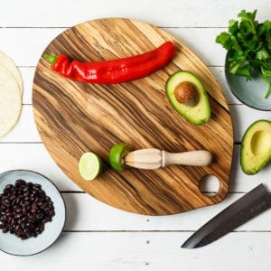 handcrafted chopping board