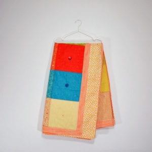 large patchwork quilt