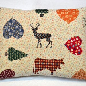 Reindeer cushion