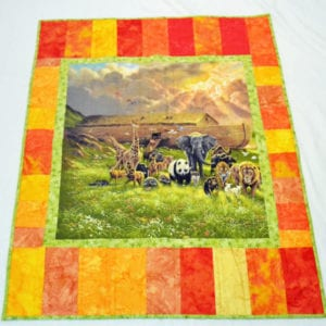 Kids Animal Patchwork Quilt