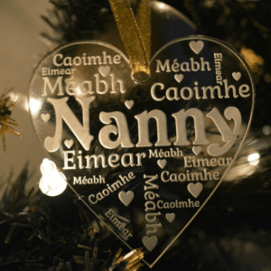 Grandparent Christmas Tree Ornament