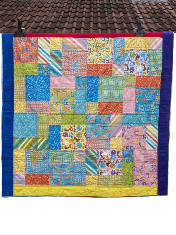 childrens patchwork quilt