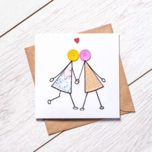 engagement card for girls