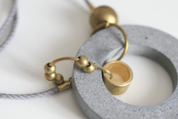 concrete jewellery