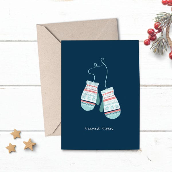 warm wishes christmas cards