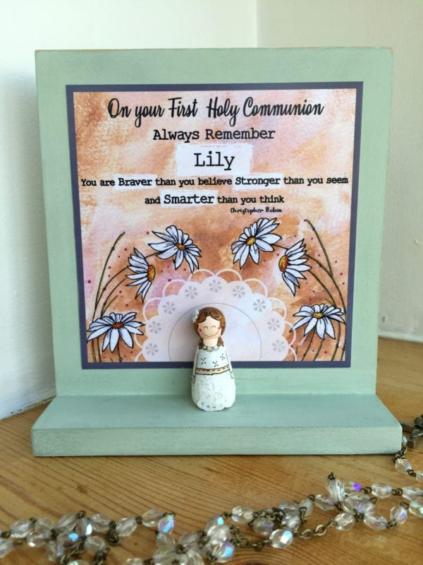 First Communion Gift for Girls