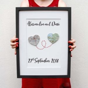 personalised engagement gift ideas
