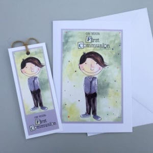 handmade communion cards