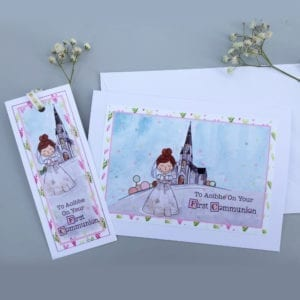 holy communion cards