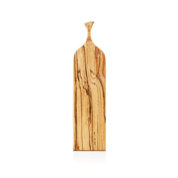 long wooden cheese board