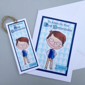 personalised holy communion cards