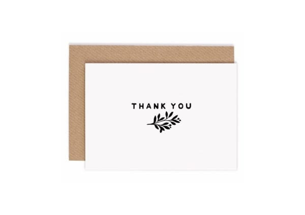 packs of thank you cards