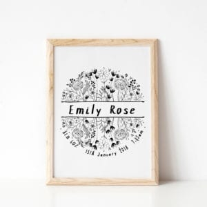 unique personalised baby gifts