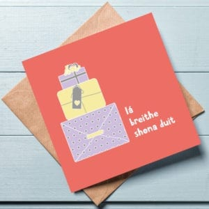 irish language greeting cards