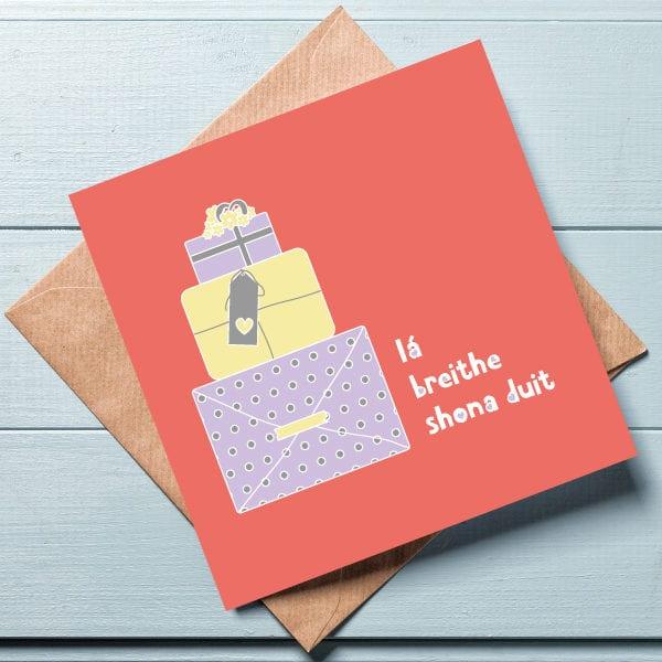 irish language greeting cards