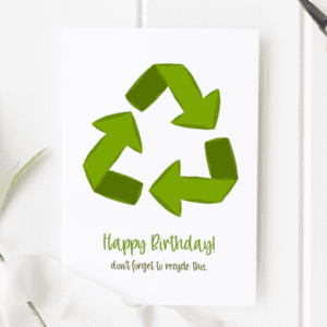 recyclable greeting cards