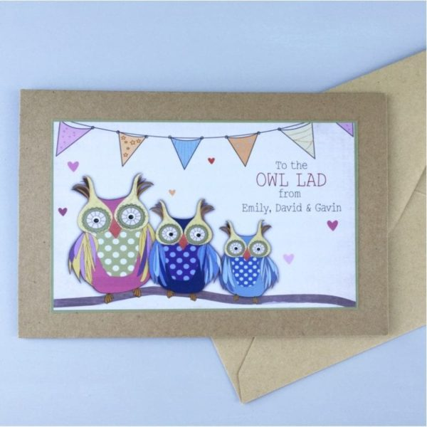 personalised fathers day cards ireland