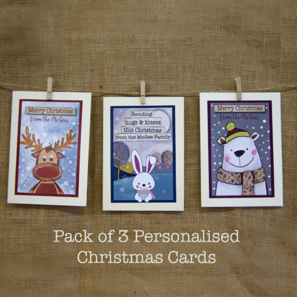 family christmas greeting cards