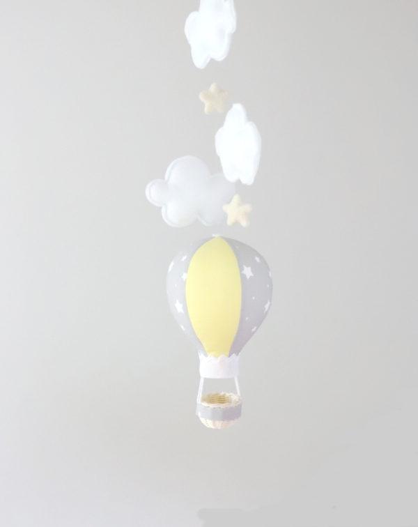 hot air balloon baby room