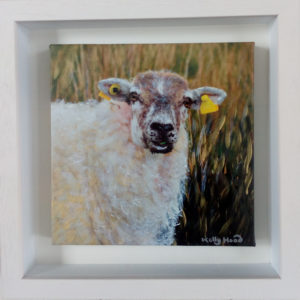 sheep painting