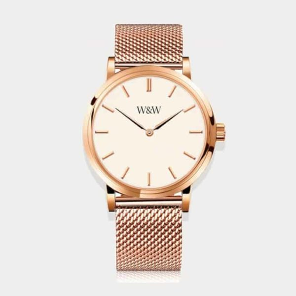 mens rose gold watch